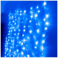 Wholesale 20pcs LED light m m Curtain Lights Christmas Ornament Wedding lighting Flash Xmas String light L101