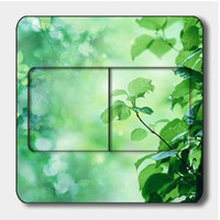 Wholesale 90 mm Rural Countryside Modern Switch off Stickers Room Wall Stickers Home Decor FM023