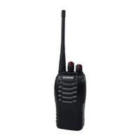 Wholesale BAOFENG BF S Walkie Talkie Single Frequency Single Band UHF MHz W CH Portable Two Way Radio Black New A018A