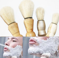 Wholesale 2 Cleaning brush brush brush mustache vintage shaving soap brush size