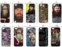 Plastic duck dynasty - 2013 hot New design Duck Dynasty hard case cover for iphone th