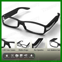 Wholesale Sunglasses Hidden Spy Camera HD P DVR With Motion Detection Mega Pixel Eyeglasses Eyewear Video Recorder
