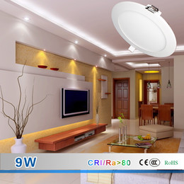 Wholesale LED Ceiling Panel Lights W LM LM W High Quality LED Downlights AC90 V HZ Led Lighting Efficient Heat Conduction and Dissipation
