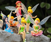 Tinke rbell action pan - High Quality PV pc Fairies Tinker Bell Tinkerbell Peter Pan Friends Action Figures