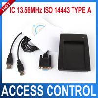 al por mayor lector de vga-13.56 MHz RFID IC leer y escribir tarjetas sin contacto con el VGA interface IC lector y escritor ISO 14443 tipo A