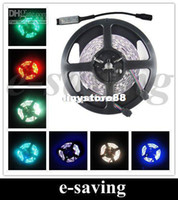 Wholesale 50m RGB LED Strip SMD led m indoor non waterproof mini controller String