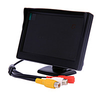 Wholesale 5 inch Security LCD Car Rear View Mirror Monitor Headrest TFT Monitor x480 Version K233