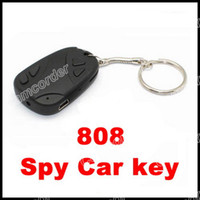 Wholesale 808 Spy Car Key Video Recorder Camcorder Camera DVR Keychain fps Camcorder