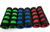 Wholesale Colorful Bike Road Mountain Bicycle Foam Sponge Grips Cycling Handlebar Sponge Hand Bar Grips