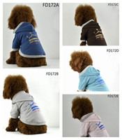 Wholesale Lowest Price Retail Pc Saler Melee Newest graceful fashion dog Pet dress dog clothes crown print hoodie