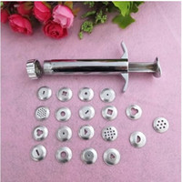 Wholesale Sample Order Polymer Clay Fimo Extruder Craft Gun Sculpey Sculpting Sugarcraft Tool Discs L148