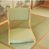 antique furniture online - Zaisu Legless Chair Japanese Living Room Furniture Chair Online Natural Finish Floor Folding legs Tatami Legless Chair