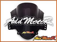 Wholesale Addmotor Windshield For Suzuki GSXR1000 GSX R GSXR Double Bubble Black Windscreen WS2024