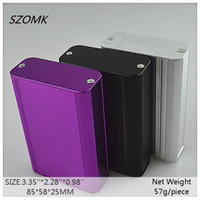 enclosure for electronic anodizing aluminum colors - 1 piece a three colors anodizing aluminum box enclosure for electronic x58x25mm