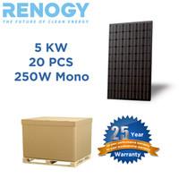 pv solar panel - Mono PC RENOGY W Watt Solar Panel KW Solar System PV Made In USA solar cells
