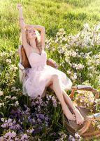 Ruffle Sleeveless Spaghetti Straps 2013 Bridesmaid Dresses Sweet princess Greek Style Goddess Bare Strap Knee Length Pink Party Dress