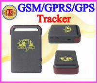 Wholesale GPRS GSM GPS car personal Tracker Vehicle mini GPS Tracker TK102B Hard wired car charger