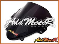 Wholesale Addmotor Windshield For Suzuki GSXR600 GSX R GSXR K4 Double Bubble Black Windscreen WS2069