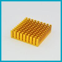 Free shipping 10pcs lot Aluminum Heat Sink 35x35x10. 1mm(L*W*...