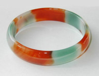 China-Tibet asian jewelry - 100 Beautiful Asian Red agate Jewelry bracelet bangle quot inch
