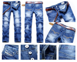 Wholesale Newest POP Top Quality Men s DS Jeans Fashion Man s Jeans Blue Free GIFT