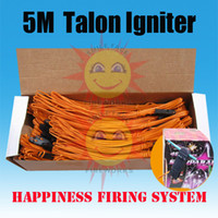 Wholesale 50 pieces Meter Talon igniters Safety fuse without Pyrogen without Gun Powder for Fireworks Display fireworks igniter