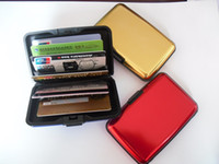 aluma wallet free shipping - colors Aluminium Wallet Credit Card Holder Aluma Wallet Card Guard