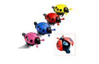 Wholesale Colorful Ladybug Bike Bell Ring Mountain Mini Bicycle Bells Handlebar Sound Alarm Horns