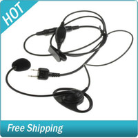Wholesale Ear Hook with Boom Microphone for Icom Maxon and Ritron Radios