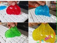 gel keyboard - 250pcs Magic High Tech Cleaner Compound Slimy Gel keyboard cleaner super computer cleaner monitor cell phone