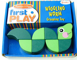 Wholesale Melissa Doug Wigging Worm Grasping Toy