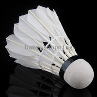 Wholesale 6Pcs Training Practice Badminton Shuttlecock Ball Game