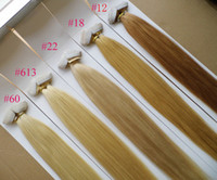 Wholesale 100g quot quot quot quot blond Glue Skin Weft Tape in Human Hair Extensions INDIAN REMY