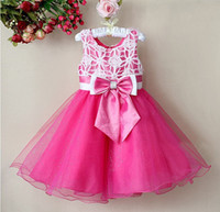 baby girl's party dresses high quality kids evening dress ch...