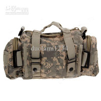 Wholesale Durable Outdoor Nylon Compression Travelling Camera Bag Army Grey