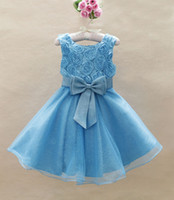 baby girls evening dress sundress gilrs party dresses flower...
