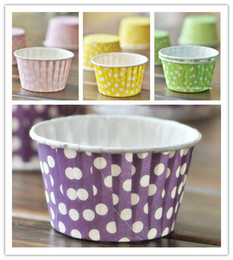 Polka Dots Cupcake Liners High Temperature Cupcake Liner Wrapper Cupcakes Decoration Cake Tool Mini Muffin Cake Molds
