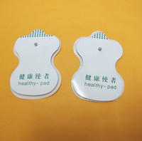 Wholesale Tens Unit Massager Electrode pads Stud Replacement Electrodes Pads Reusable amp Self adhesive