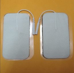 20PCS 50 * 90MM grandes almohadillas precableadas rectangulares del electrodo del reemplazo para las máquinas del ccsme y las máquinas de las diez de maternidad