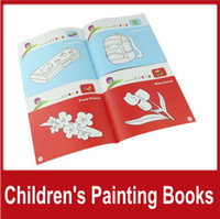Wholesale 20PCS Paint Draw Children s Painting Books Puzzle Picture Album Education Learning School Supplies Boys and girls