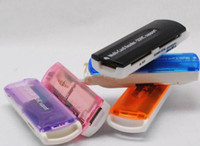 Wholesale Small spacecraft Micro SD TF M2 camera SD Memory Stick M2 MINI SD Card Reader Multi Cards In