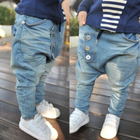Wholesale Hot selling New arrive Baby Kids Clothing Children s pants Boy s Harem Pants PP jeans child pants trousers