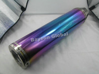 China (Mainland) performance scooter exhaust - Scooter Performance Exhaust Muffler shark tip GY6 cc CC QMJ152 stroke Electroplating In surface