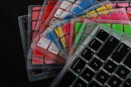 Wholesale Laptop Silicone KeyBoard Case Protector Cover skin For MacBook waterproof dustproof