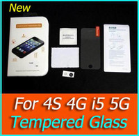Wholesale Glass Premium Tempered Glass Screen Protector iphone Glass Film Anti Scratch shatterproof Protector For iphone s G