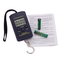 Digital scale 40kg to 10g  Electronic Large LED FISHING Portable Digital Scale For Luggage Weighing 40kg to 10g C360