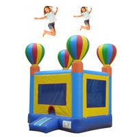 Wholesale Inflatable bouncer balloons outdoor inflatable games toys playhouse party advertising moonwalks castle free ocean freight