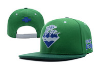 Wholesale Pink Dolphin Wave Green Snapbacks MMG snapback caps DGK snapbacks hats TRUKFIT hat snap back sports cap adjustable fitted baseball caps