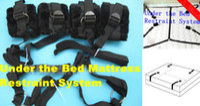 Wholesale Furry Under the Bed Mattress Restraint System BDSM Bondage Belt Fun Sex Gadgets Toys Adult Products Flirt for Couple XLF1145