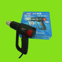 air heater gun - Temperature Adjustable W V Hand held Soldering Irons heat gun hot air gun car wrap professional heater tool